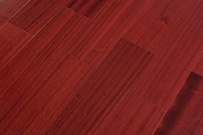 多层实木地板沙比利