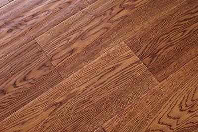 多层实木地板橡木仿古SK509