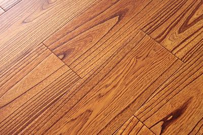 多层实木地板楝木仿古SK908