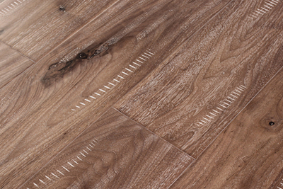 三层实木地板黑胡桃独幅SHT-H803