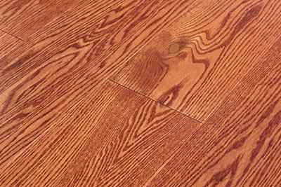 三层实木地板红橡SHX-S112