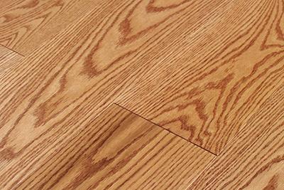 三层实木地板红橡SHX-S105