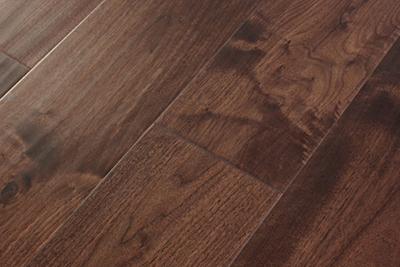 三层实木地板黑胡桃独幅SHT-H801