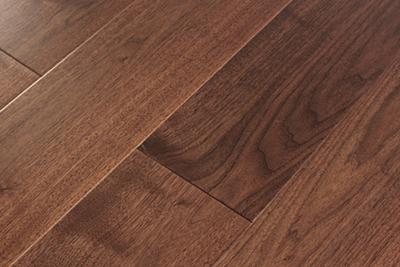 三层实木地板黑胡桃独幅SHT-H808