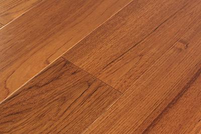 三层实木地板柚木独幅SYM567